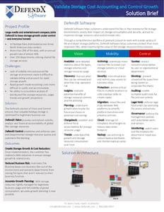 DefendX OnePager - M&E Success